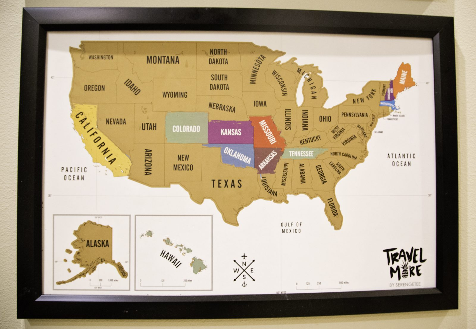 DIY Travel Scratch Off Maps for Kids – The Majestic Mama